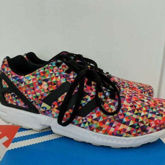 adidas zx flux prism size 8